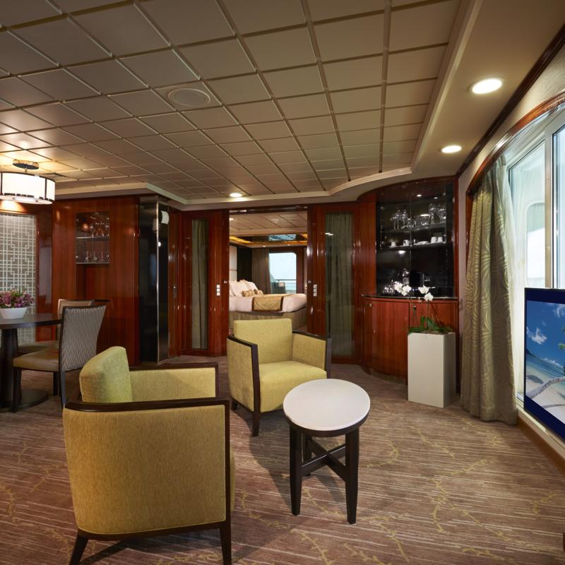 Owner's Suite with Double Balcony - Norwegian Dawn