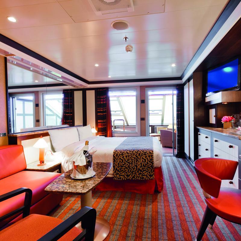 Grand Suite with balcony - Costa Mediterranea