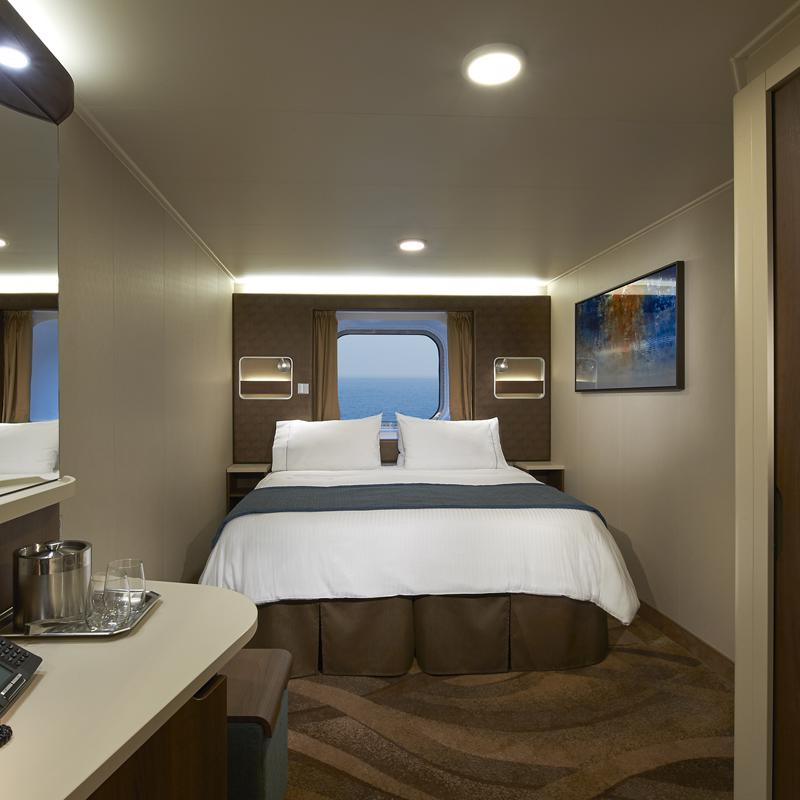 Oceanview with Large Picture Window - Norwegian Escape