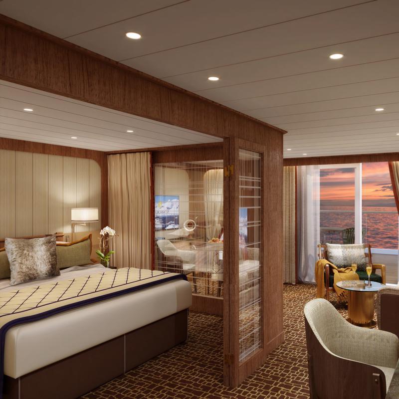 Penthouse Spa Suite Seabourn Venture