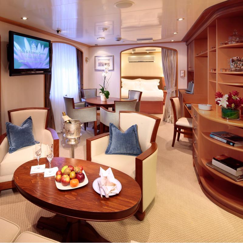 Admiral Suite - SeaDream 2
