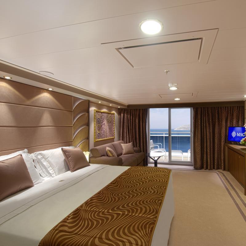 Aurea Suite with Balcony-MSC Divina