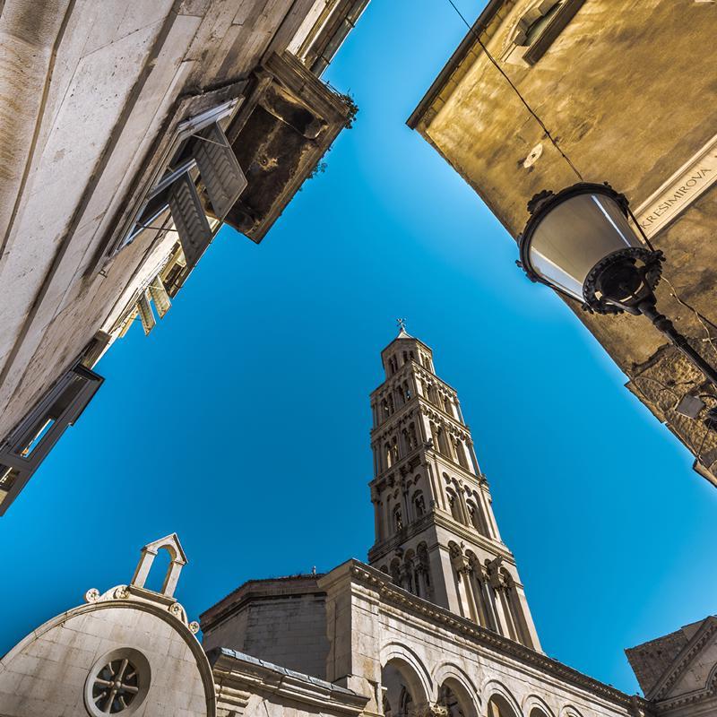 St Duje's Cathedral Split Croatia