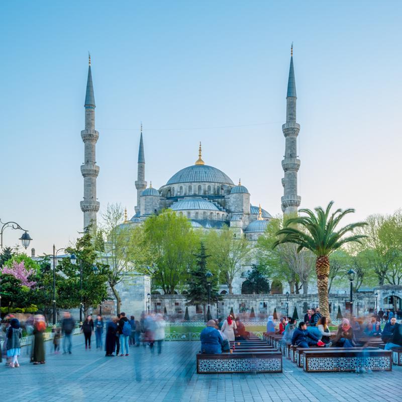 Sultanahmet Square Istanbul Turkey