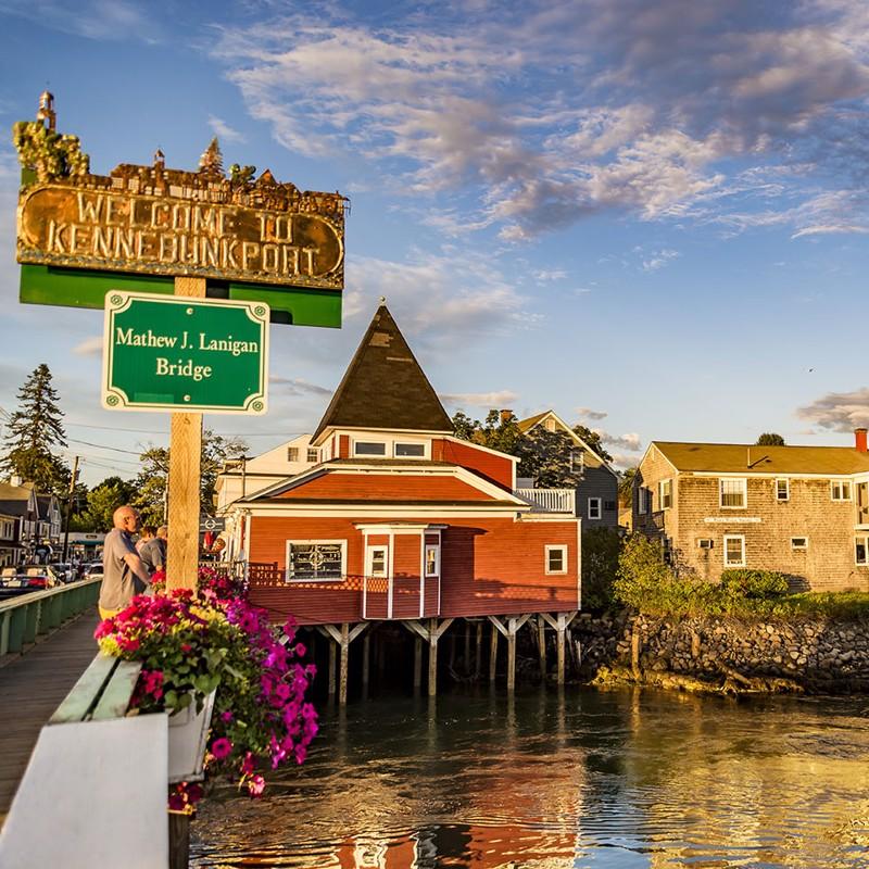 Boston - Salem - Kennebunkport - Portland