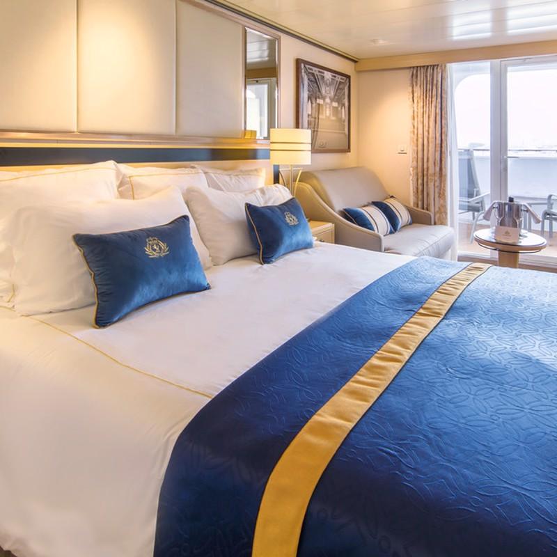 Balcony - Cunard Queen Mary 2