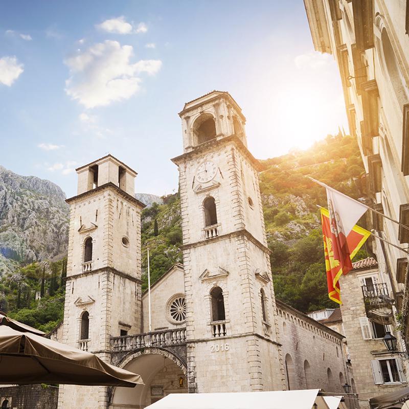 Kotor Cathedral Kotor Montenegro