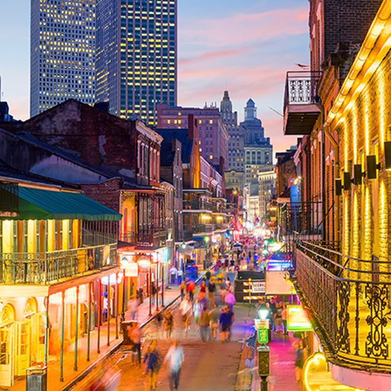 French Quarter New Orleans USA