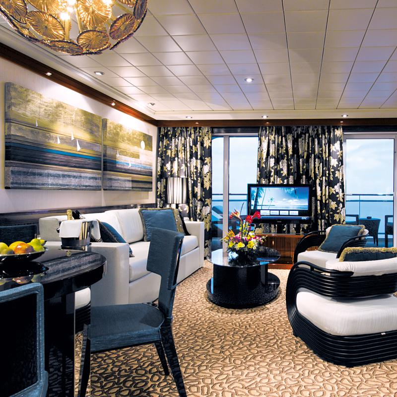 The Haven Deluxe Owner's Suite with Large Balcony - Norwegian Epic