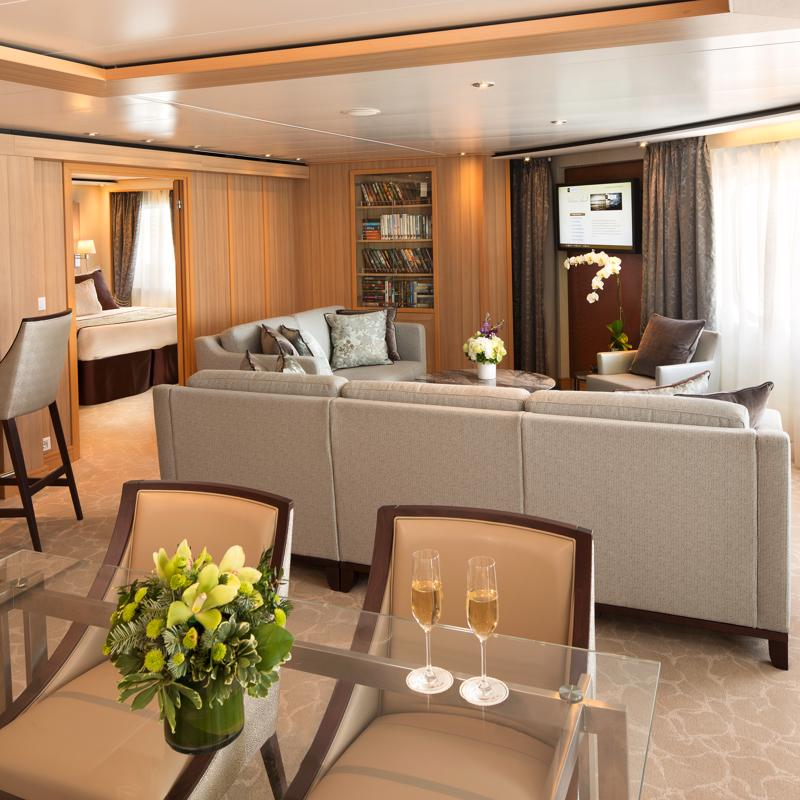 Grand Suite - Seabourn Quest