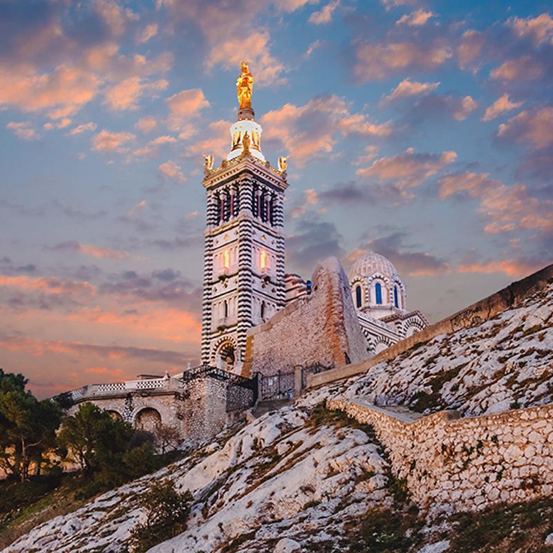 Notre-Dame de la Garde marseille France