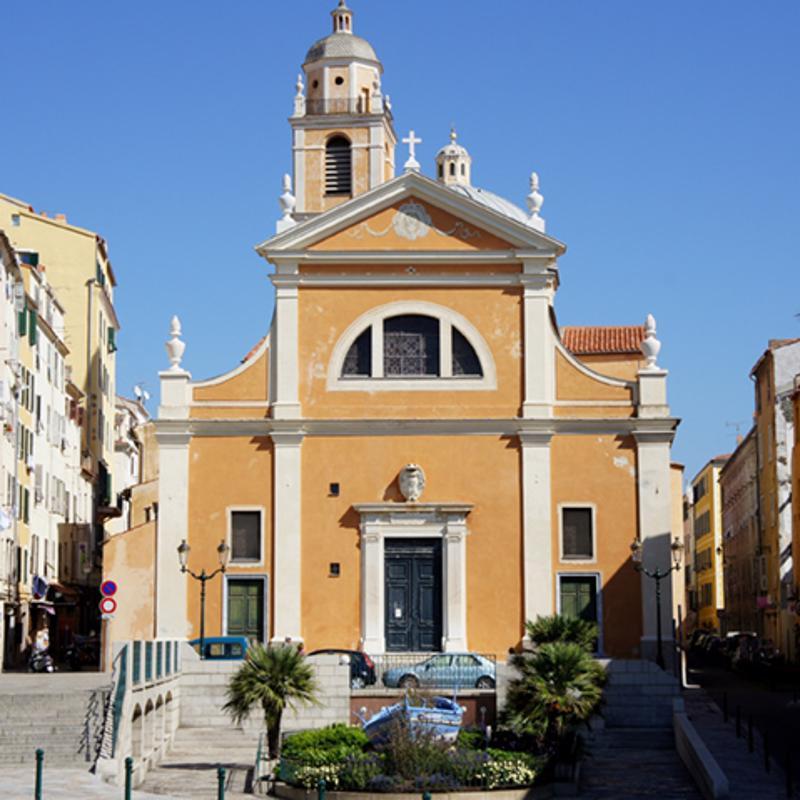 Ajaccio Cathedral Crosica France