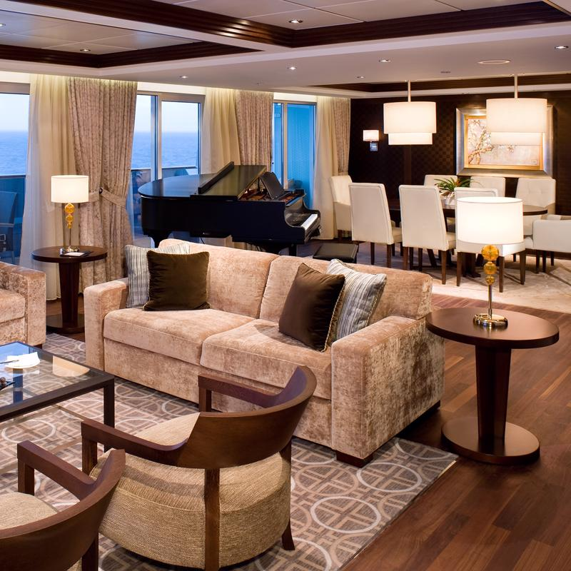 Penthouse Suite Celebrity Solstice