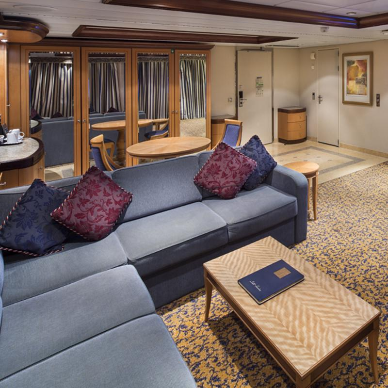 Owner's Suite - 1 bedroom - Brilliance of the Seas
