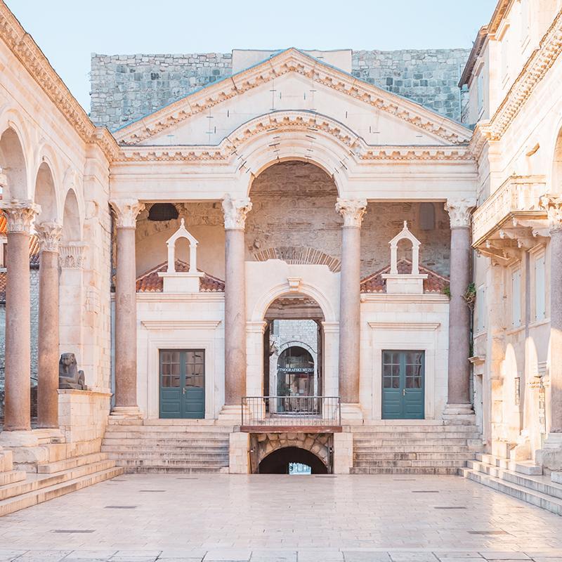 Diocletians Palace Split Croatia