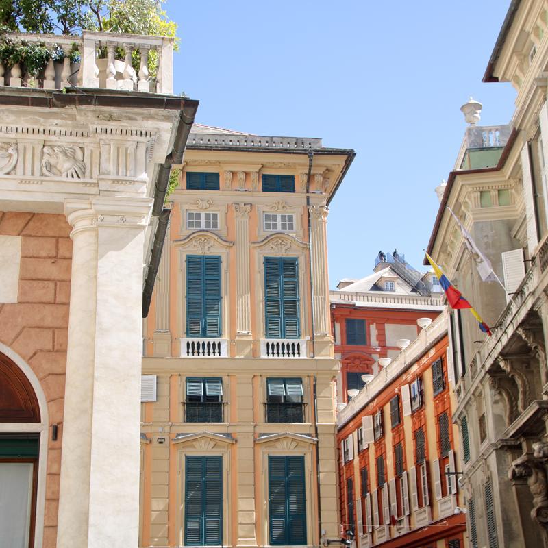 Via Garibaldi GENOA - LIGURIA (ITALY)