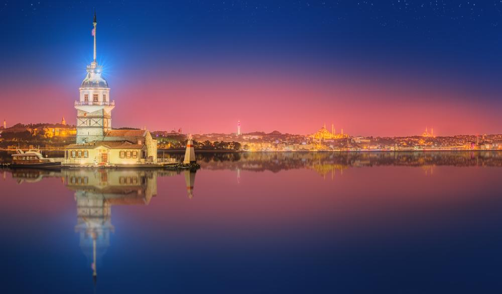 Istanbul - Overnight onboard