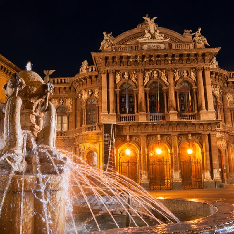 Teatro Massimo Bellini Catania Sicily Italy