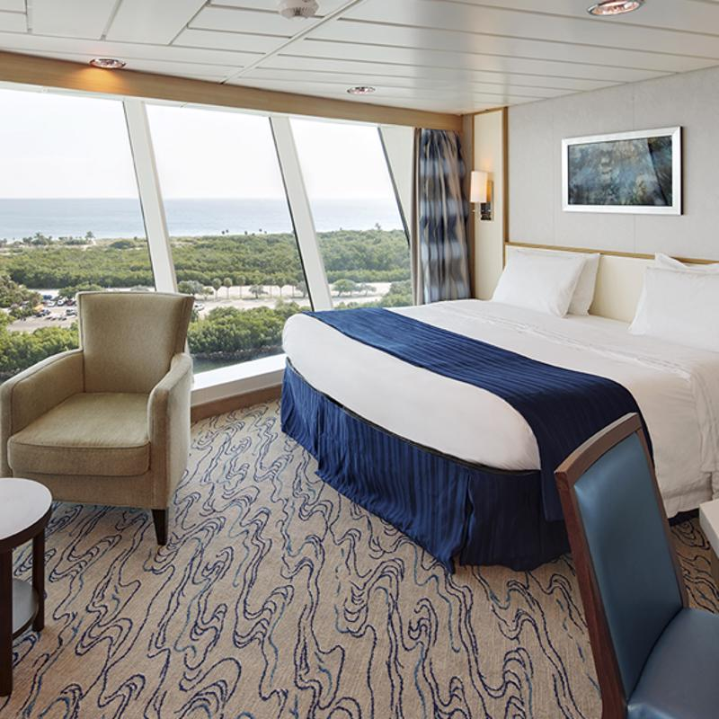 Ocean View Panoramic Suite (No Balcony) - Voyager of the Seas