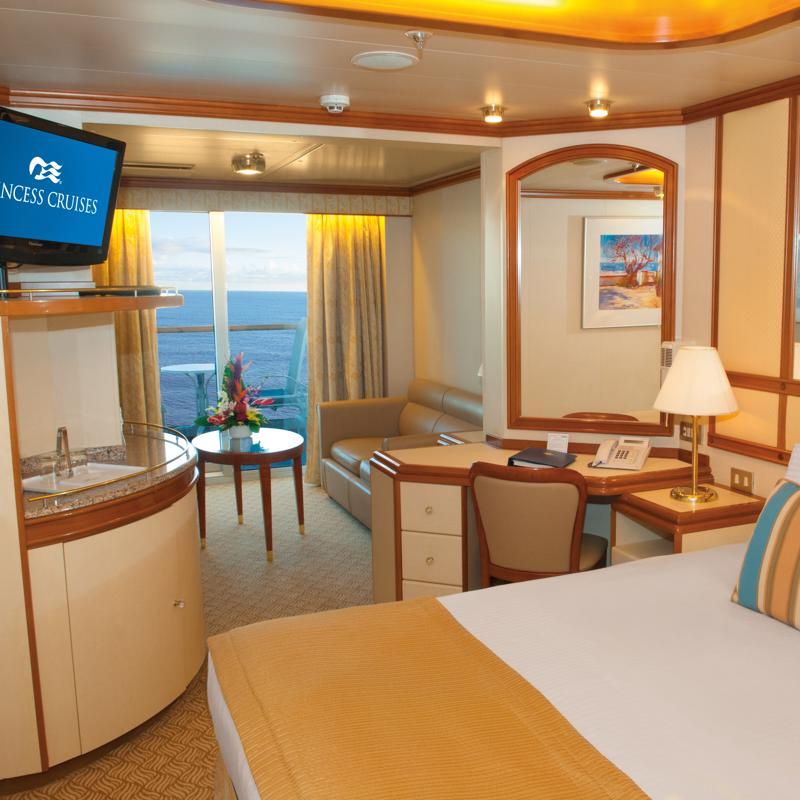 Mini-Suite with Balcony - Diamond Princess