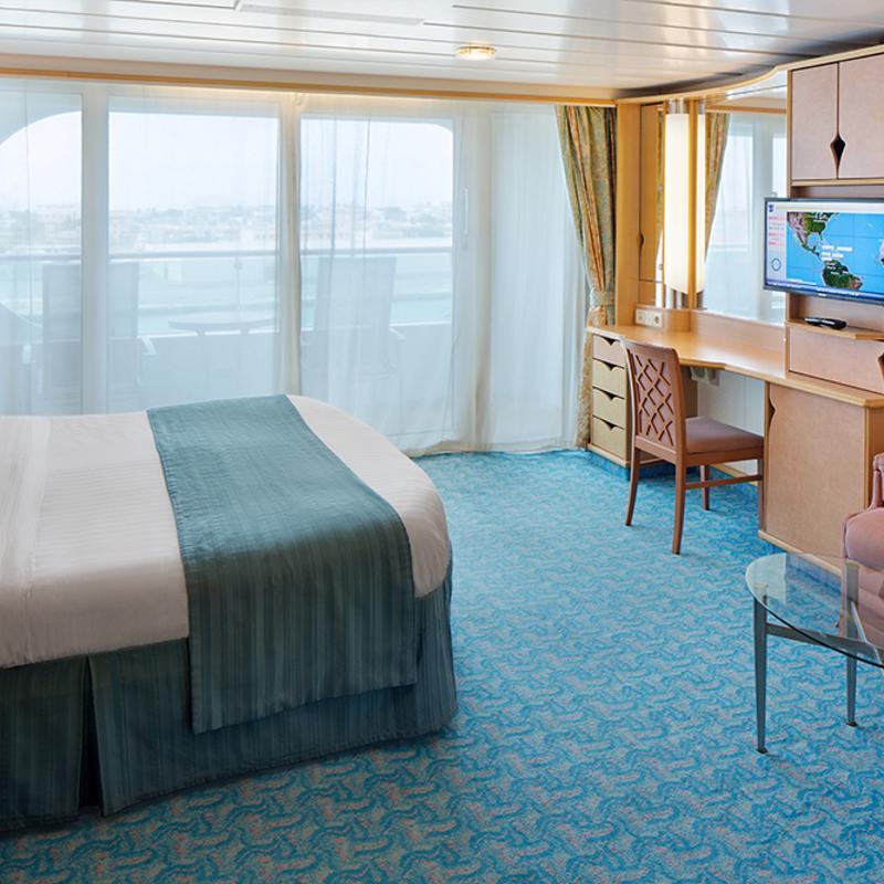Spacious Ocean View Balcony-Navigator of the Seas