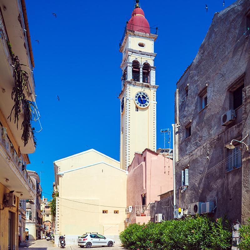 Church of St Spyridon Corfu Town Corfu Greece