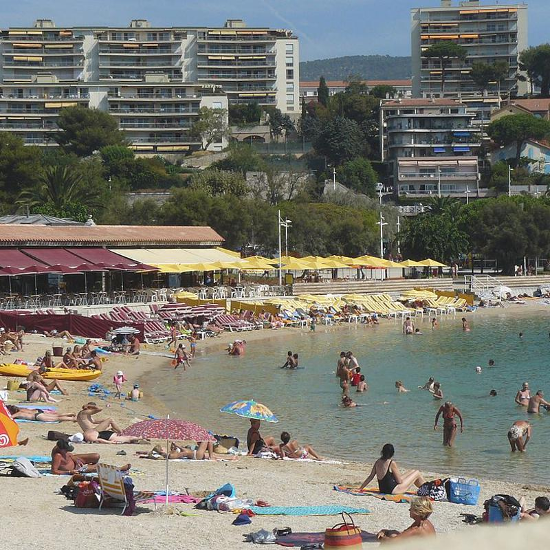 Plages du Mourillon Toulon France