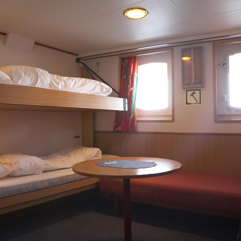 Polar Outside Upper Deck - MS Nordstjernen