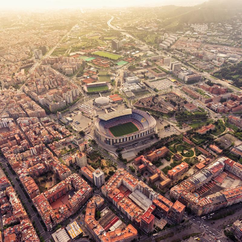 Camp Nou Stadium Spain Barcelona
