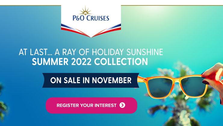 P&O Register interest
