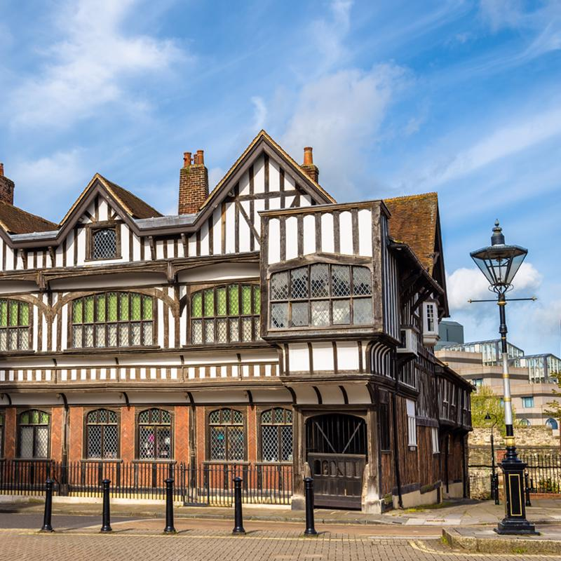 Tudor House and Garden Southampton UK