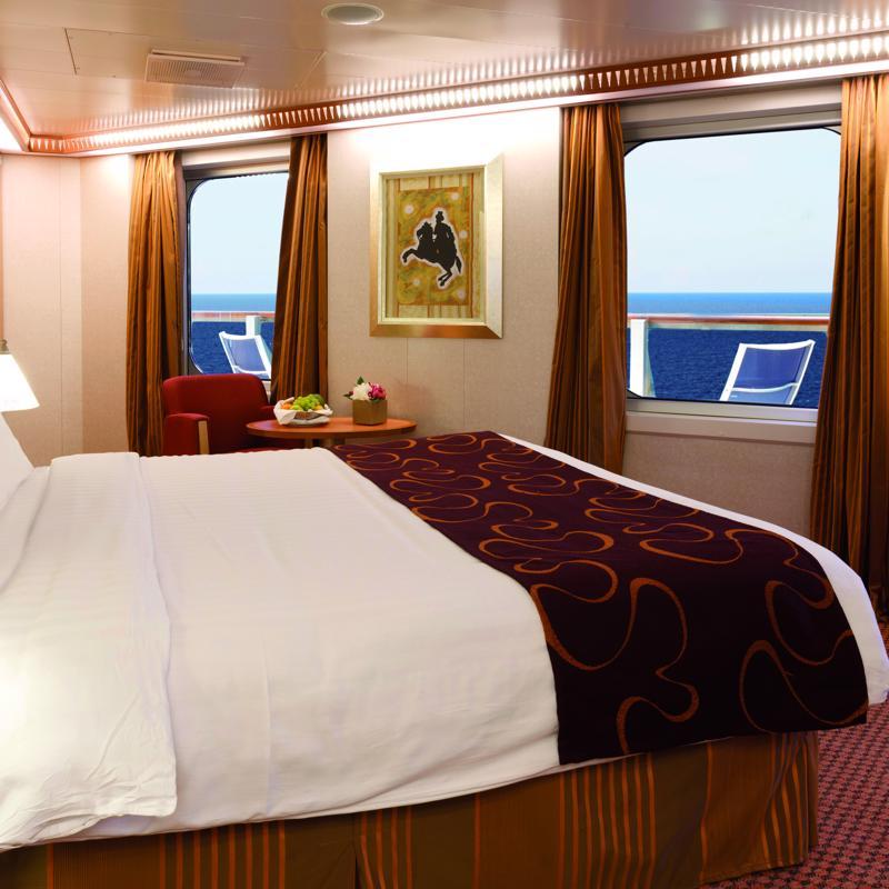 Mini Suite with ocean view balcony - Costa Fascinosa