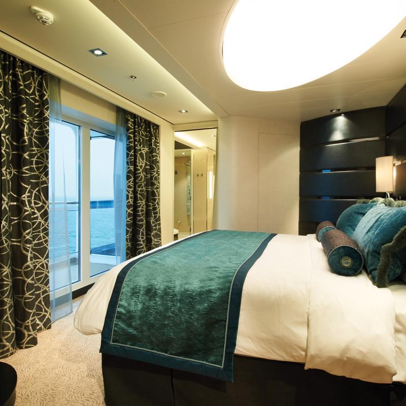 The Haven Deluxe Owner's Suite with Large Balcony - Norwegian Getaway