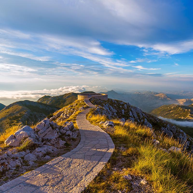 Lovken National Park Kotor Montenegro