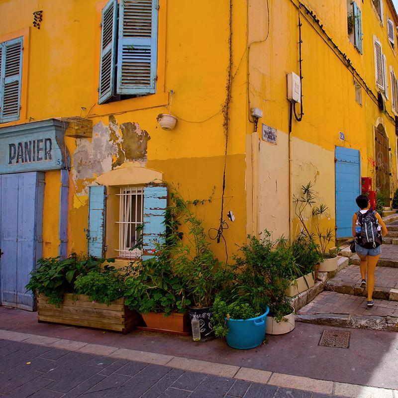 Le Panier District Marseille France