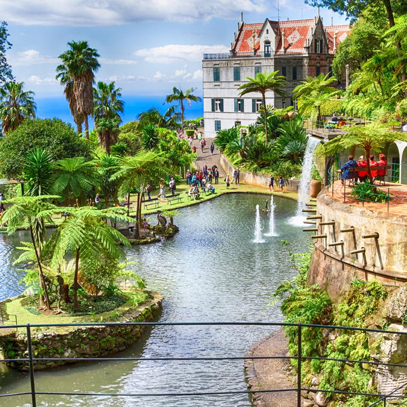 Monte Palace Tropical Garden Funchal Madeira Portugal