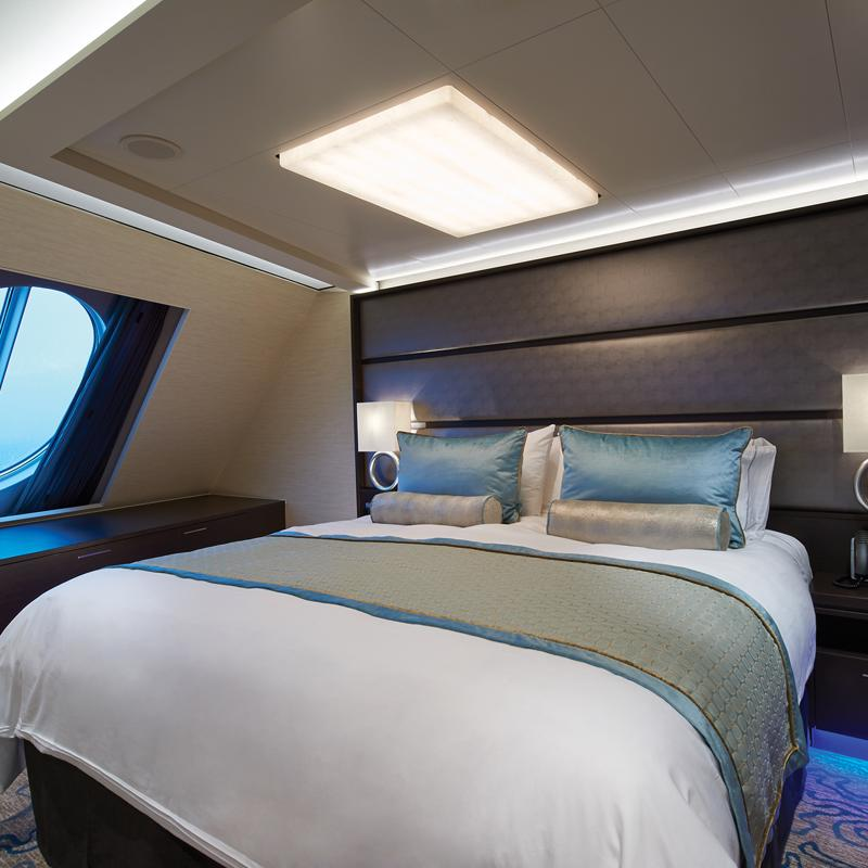 The Haven Aft-Facing Penthouse with Master Bedroom & Balcony - Norwegian Escape