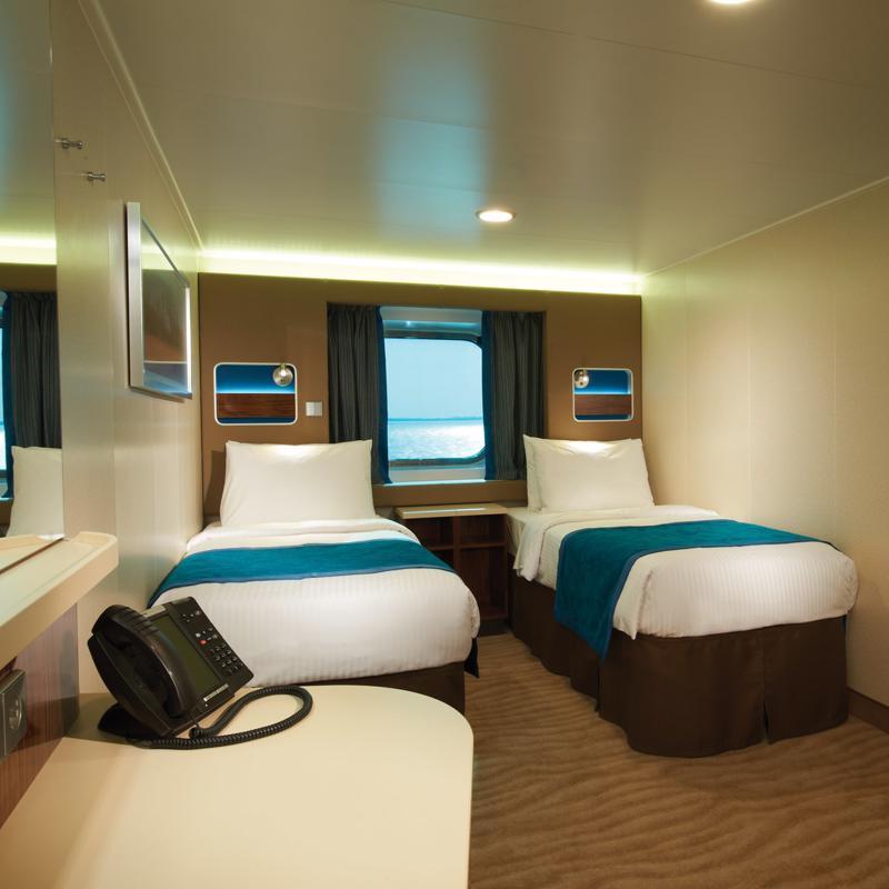 Mid-Ship Oceanview with Large Picture Window - Norwegian Getaway