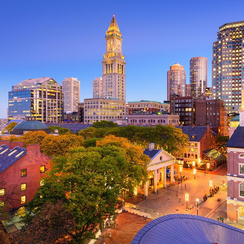 Faneuil Hall Marketplace Boston USA