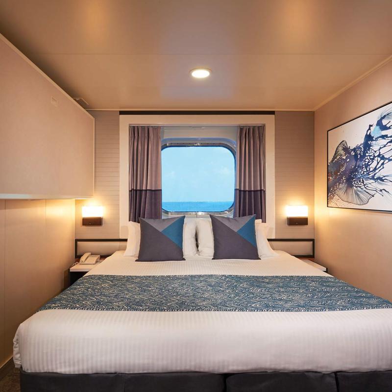 Ocean with Picture Window - Norwegian Jade