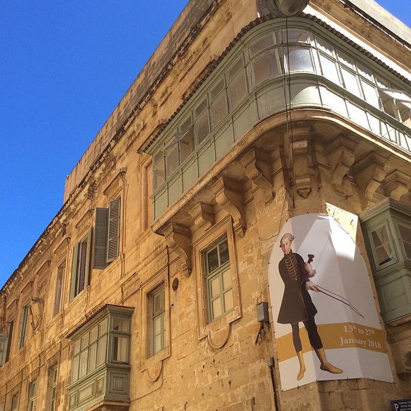Manoel Theatre and Palazzo Manoel in Valetta