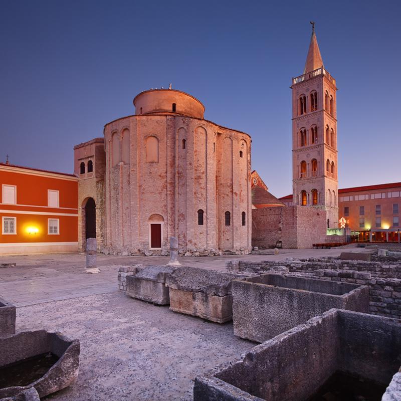 St Donatus Church Zadar Croatia