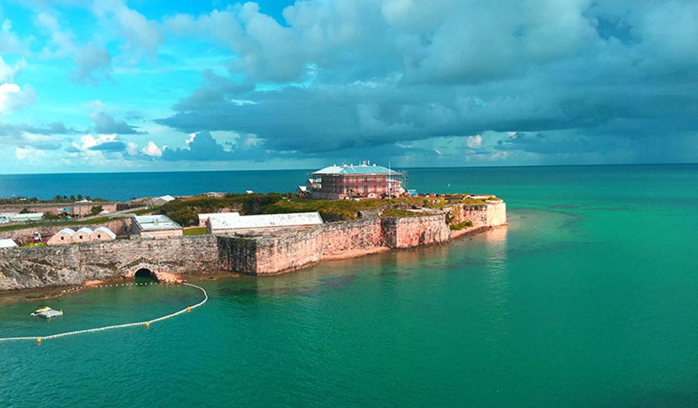 St. George's, Bermuda - Overnight onboard