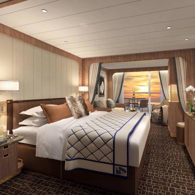 Veranda Spa Suite Seabourn Venture