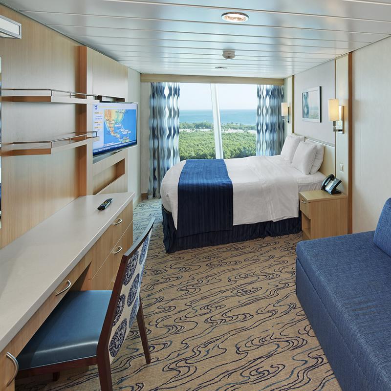 Spacious Panoramic Ocean View cabin - Explorer of the Seas
