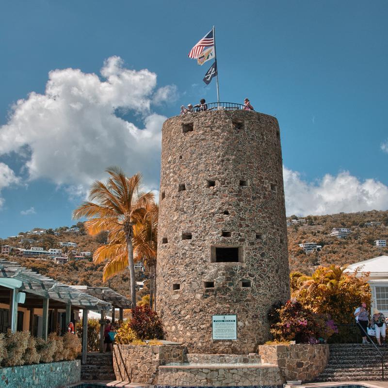 Charlote Amalie St Thomas United States Virgin Islands Blackbeards Castle