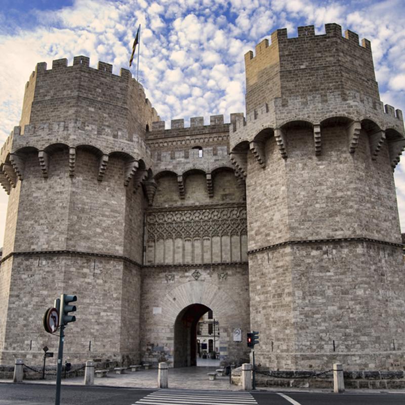 Casco Historico Valencia Spain