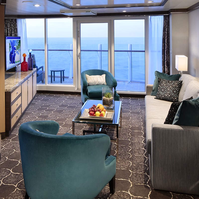 Spacious AquaTheatre Suite Large Balcony 2 Bedrooms - Symphony of the Seas