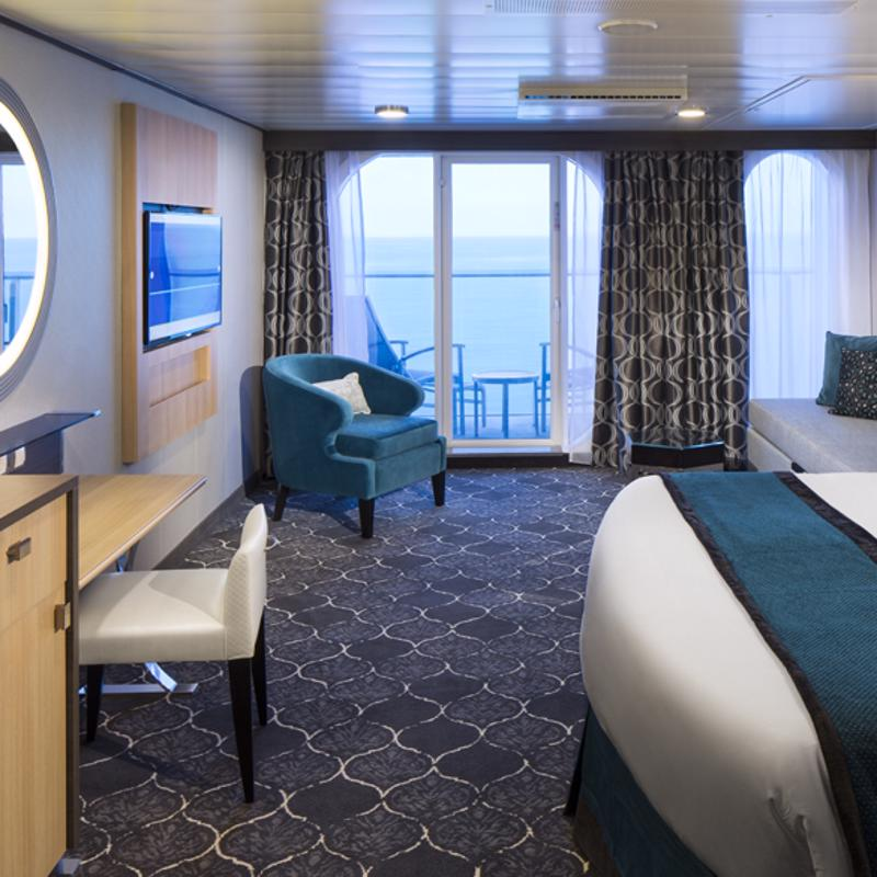 Ultra Spacious Ocean View with Balcony - Allure of the Seas