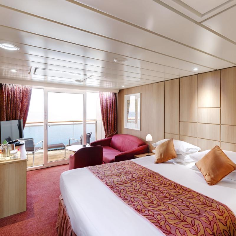 Aurea Suite with Balcony-MSC Preziosa